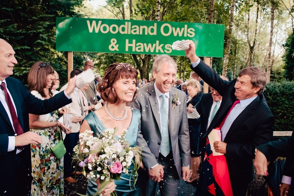 The Hawk Conservancy Wedding Photographer: Angela & Phil