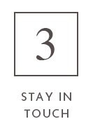 3 stay in touch