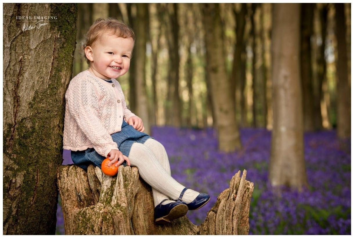Family Bluebell Portraits | Basingstoke | Hampshire