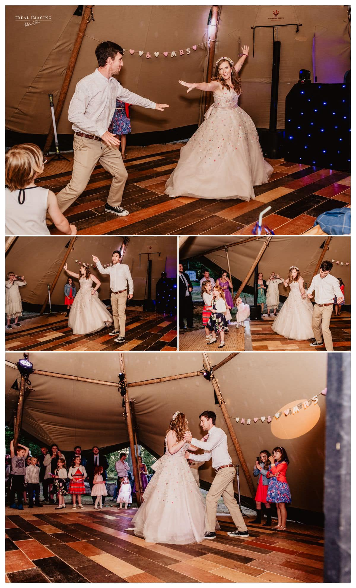 teepee wedding
