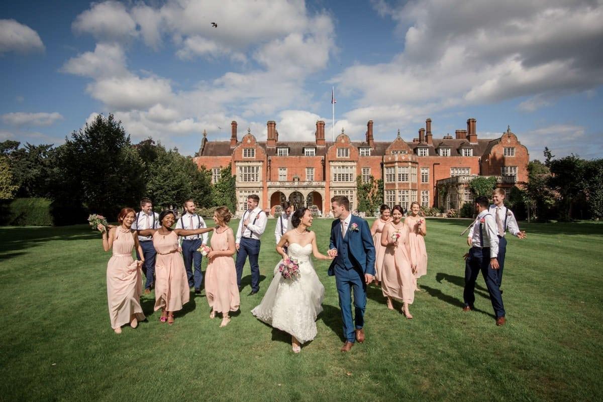A Stunning Summer's Wedding at Tylney Hall :: Queenie + James