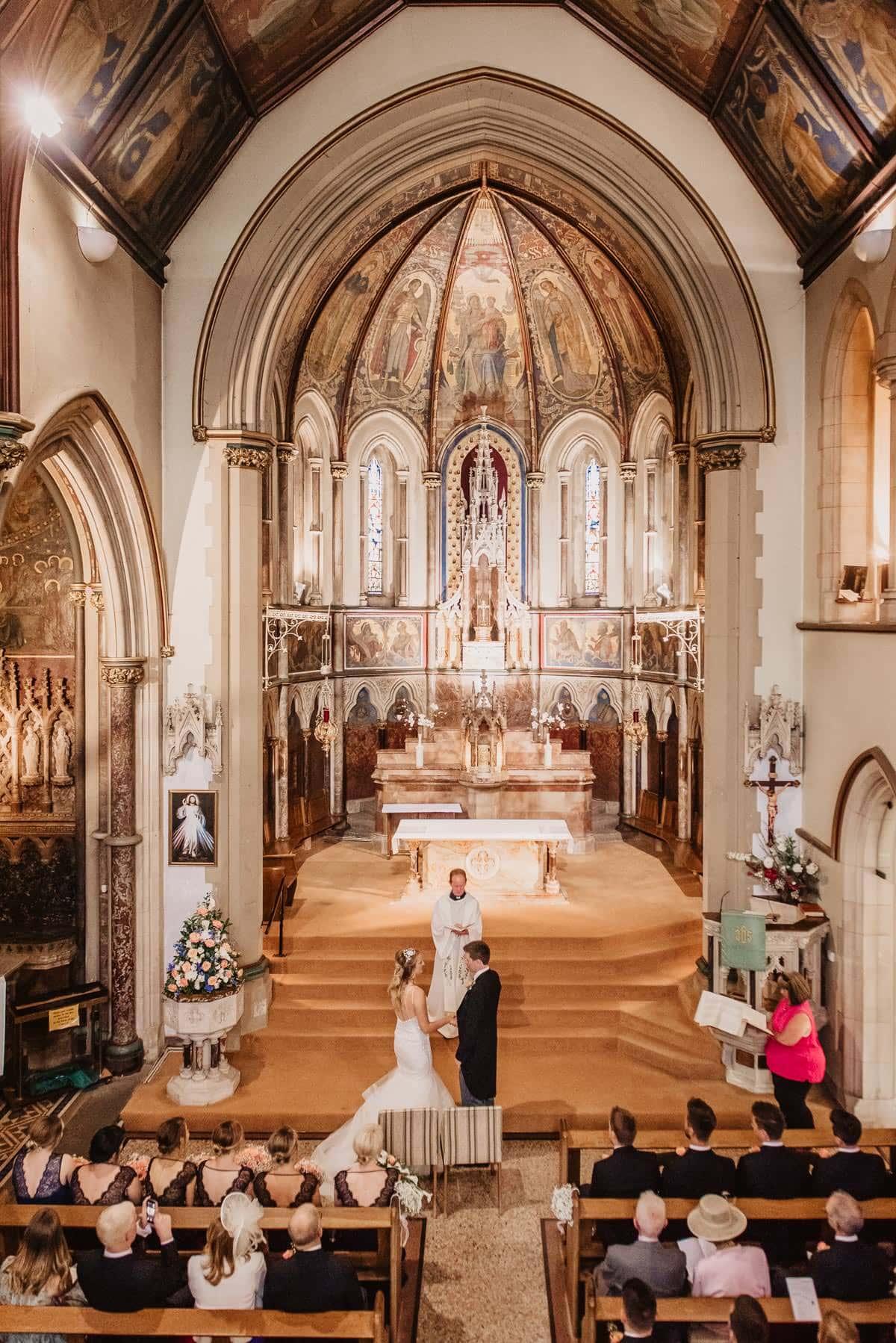 Summmer wedding at Tylney Hall