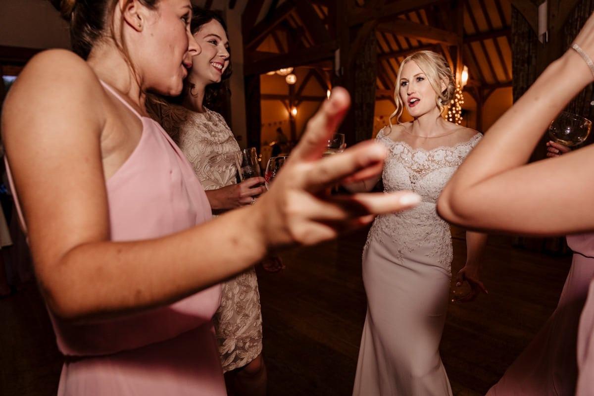dance floor Rivervale Barn