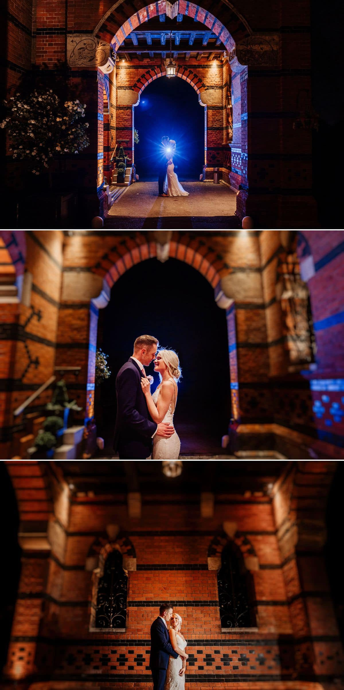 bride and groom night at the elvetham