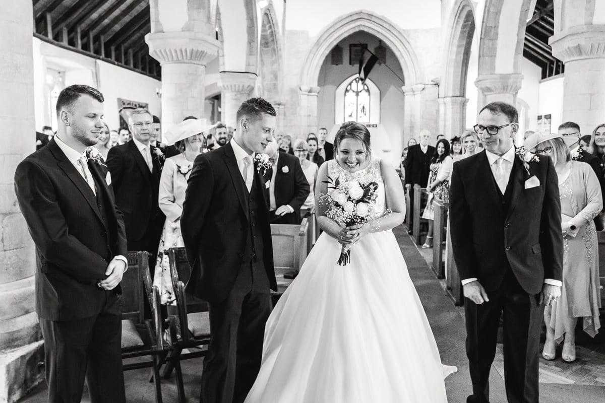 St Marys Church Overton Wedding