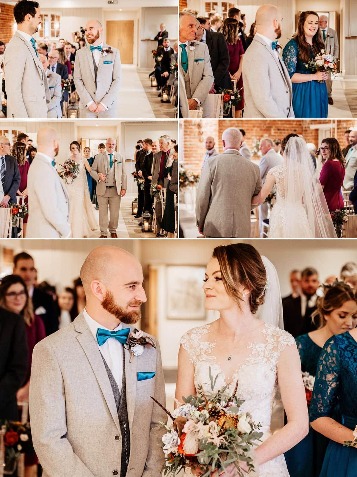 Sopley Mill Wedding ceremony