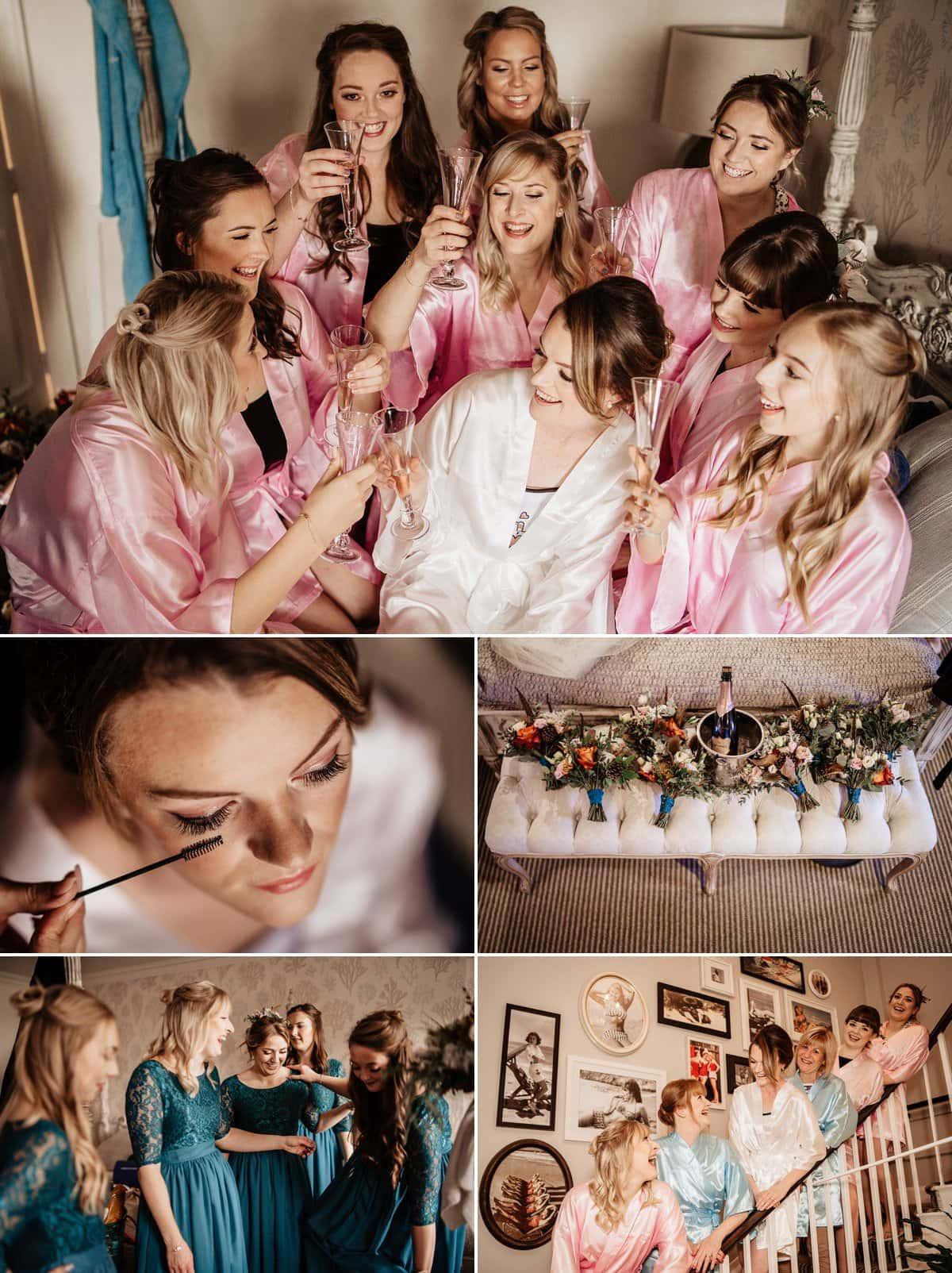 Bridal Preparations at Christchurch Harbour Hotel