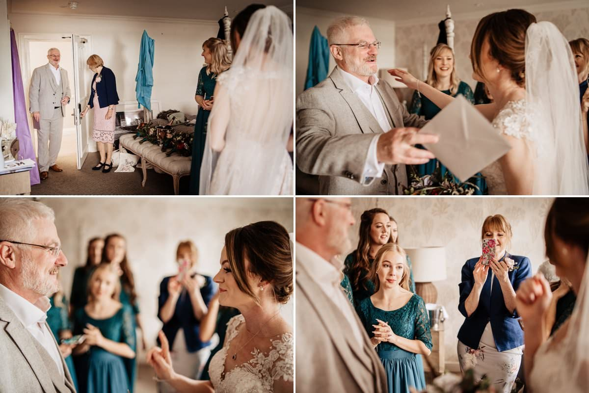 Reveal for Father of the Bride